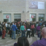 Flashmob in Mamilla