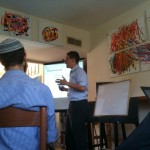 @bnb7 snaps a shot of @arielbeery teaching #pti10 @presentense institute