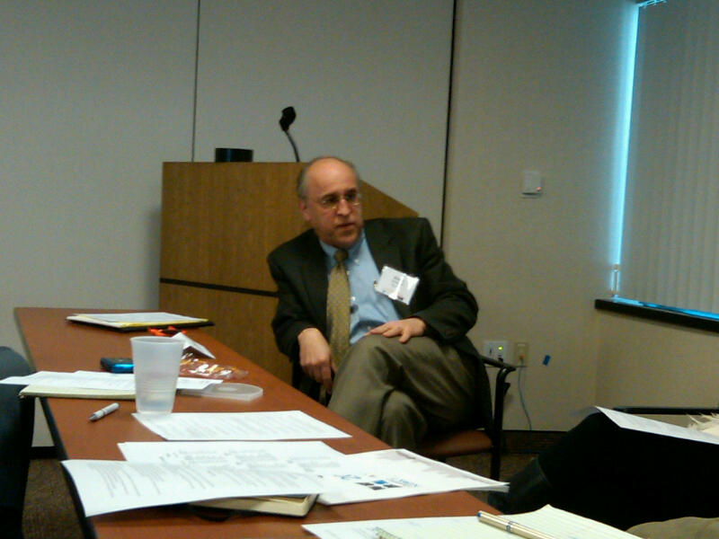 @barryrosenberg of @jfdstl talking about a new Blackbaud system his and other feds are building w @jfederations