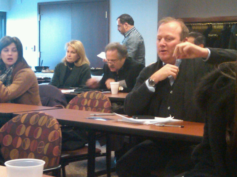 @jewishDetroit Fed CEO Scott Kaufman: use the large events to ID the next leaders and put them in charge