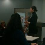 @shelbyzitelman talking to the @presentense ny mentors