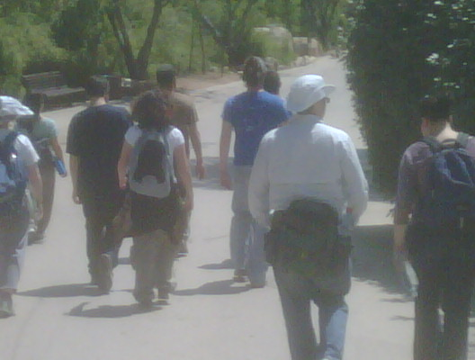 The @presentense israel posse on fun day at the jerusalem zoo