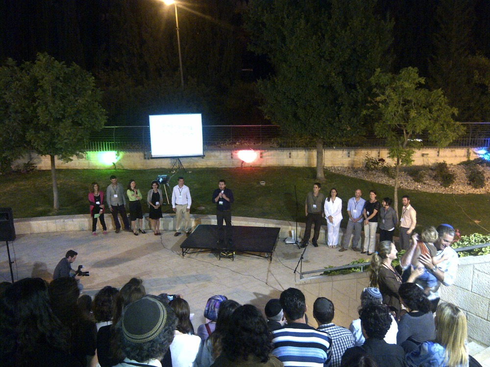 @PresenTense Jerusalem fellows begin to pitch #ptlaunchnight